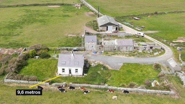 Casa de Gerald Corrigan, vista aérea