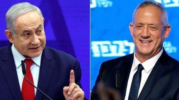 Benjamin Netanyahu na Benny Gantz