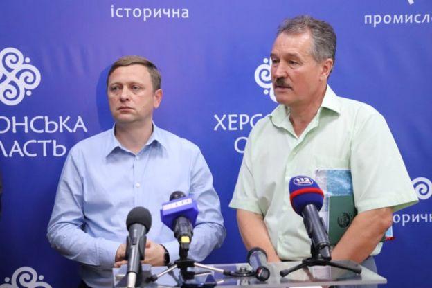 Дмитро Бутрій і Володимир Бондарчук