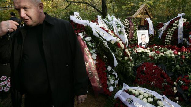 Enterro de mafioso russo
