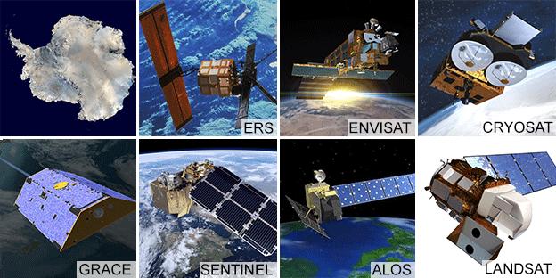 Satellite artwork