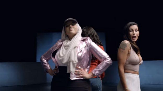 Amani Al-Khatahtbeh and Trace Lysette