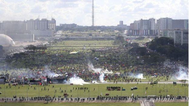 Protesto em Brasília 24/05/2017