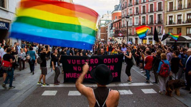 Manifestación LGBT