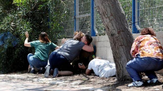 En la ciudad israelí de Ashkelon, los ciudadanos han estado en constante alerta ante la caída de los cohetes palestinos.