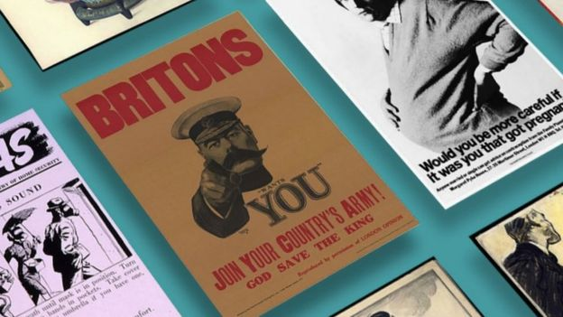 Version with Kitchener poster