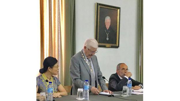 Ông Chủ tịch Hội Địa lý Lisbon khai mạc Hội thảo Quan hệ Bồ- Việt xưa và nay