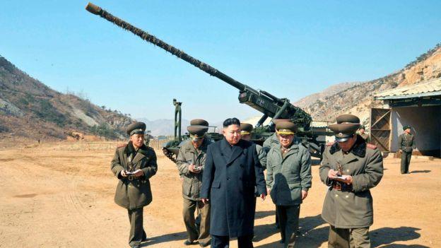 Северокорейская 170-миллиметровая дальнобойная гаубица