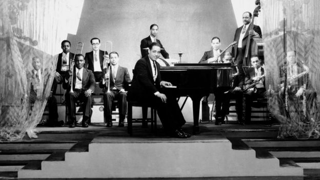La banda de Duke Ellington en 1929