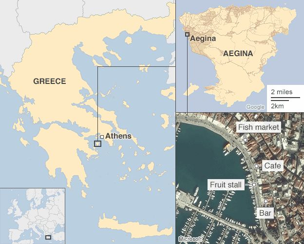 Greece debt crisis Voices from a small island BBC News