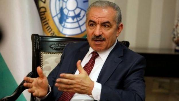 Waziri mkuu wa Palestina Mohammed Shtayyeh