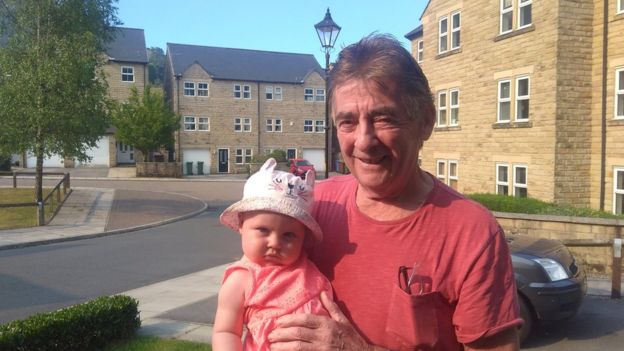 Retired plasterer Matt Lomas was evacuated with his wife, daughter and eight-month-old grand-daughter Isla.