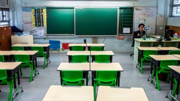 Escuela en Hong Kong