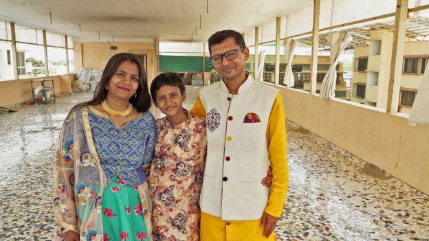 Het Doshi e sua família