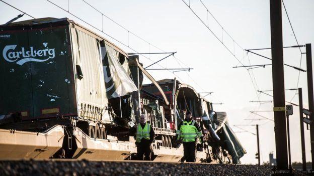 Danimarka tren kazası