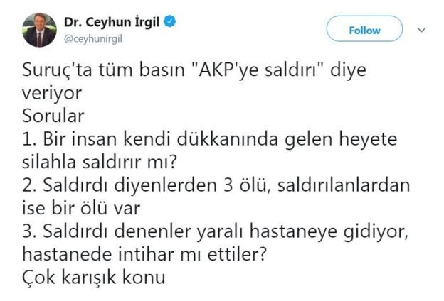 irgil twit