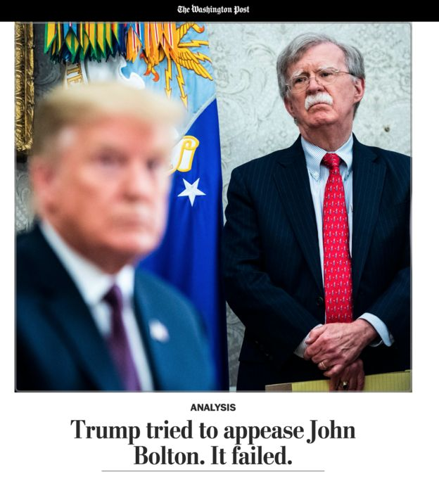 بولتون و ترامپ