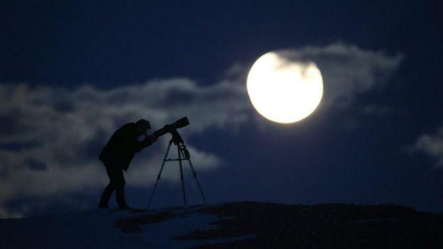 Ay tutulmasını gözlemleme