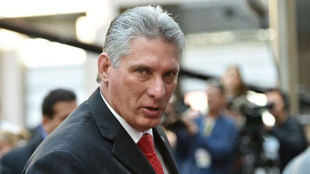 Díaz-Canel tiene una larga carrera política en diferentes responsabilidades en el Estado cubano. Foto: AFP