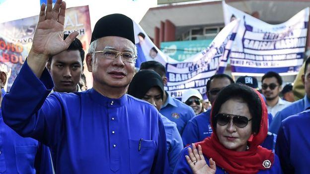 Najib Razak dan Rosmah Mansor