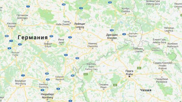Хемниц с 1953 по 1990 находился на территории ГДР и назывался Карл-Маркс-Штадтом
