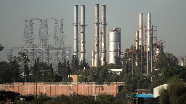 Refinería mexicana