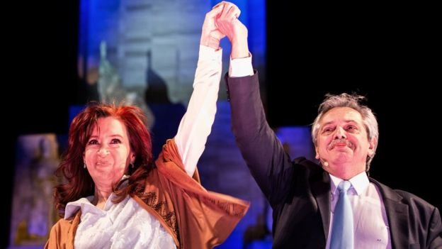 Cristina Kirchner e Alberto Férnandez