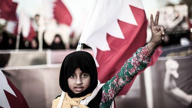 مظاهرة للمعارضة البحرينية، أغسطس/آب 2014