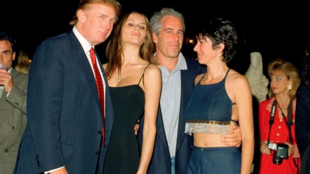 Epstein y Donald Trump