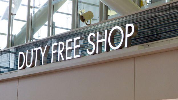 Ein Duty-Free-Shop