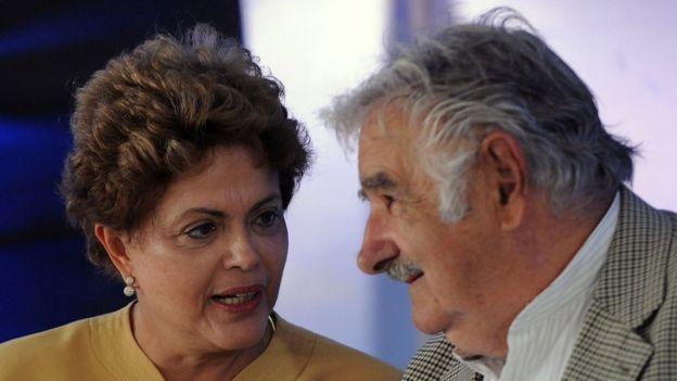 José Mujica y Dilma Rousseff