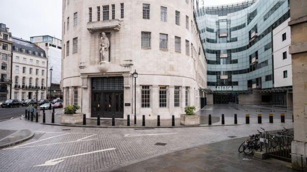 مقر بي بي سي في لندن