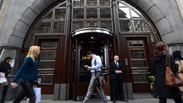Европейская штаб-квартира банка Goldman Sachs сейчас располагается в Лондоне