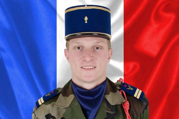 Lt Pierre Bockel (army handout)