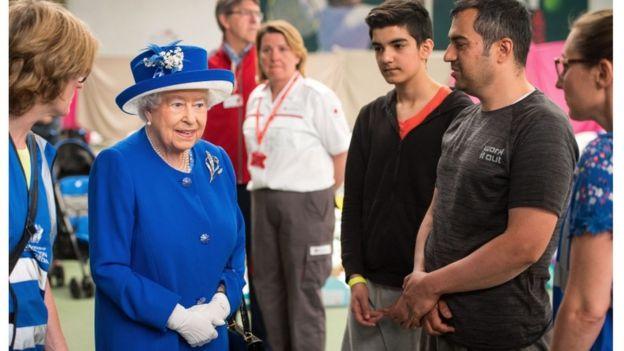 Westway'de kraliçe