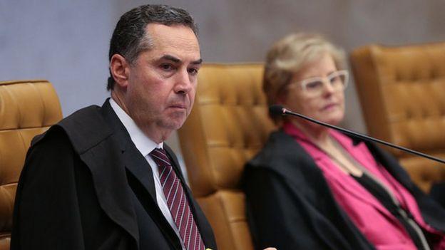 Luis Roberto Barroso e Rosa Weber