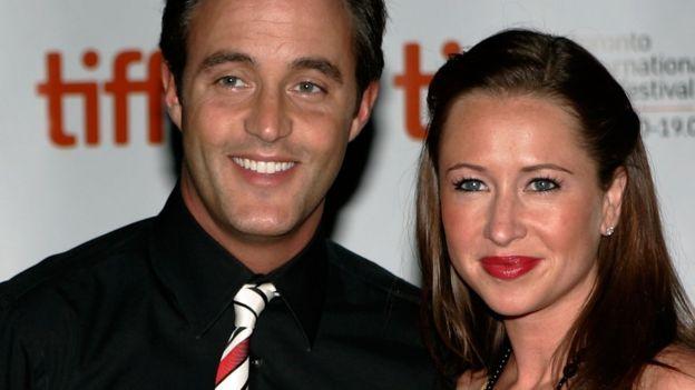 潔西卡和班‧馬爾羅尼夫婦2009年資料照片