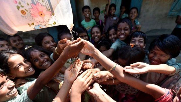 بچے، انڈیا، ہاتھ دھونا