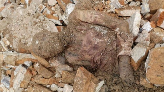 یکی از اعضای شورای شهر تهران گفته جنازه مومیایی شده در پی حفاری در قسمت غربی صحن عبدالعظیم پیدا شده است