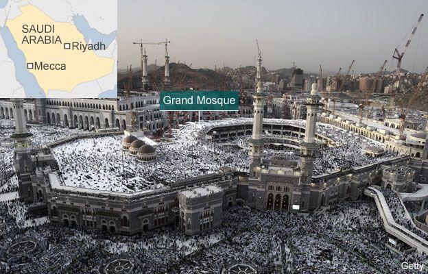 Mecca crane collapse: 107 dead at Saudi Arabia's Grand
