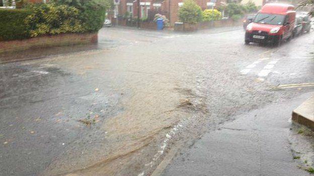 Norwich flooding