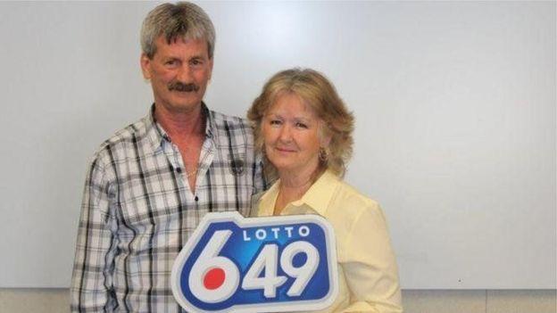 یک زوج کانادایی هم پارسال برای سومین بار جایزه بزرگ لاتاری را بردند