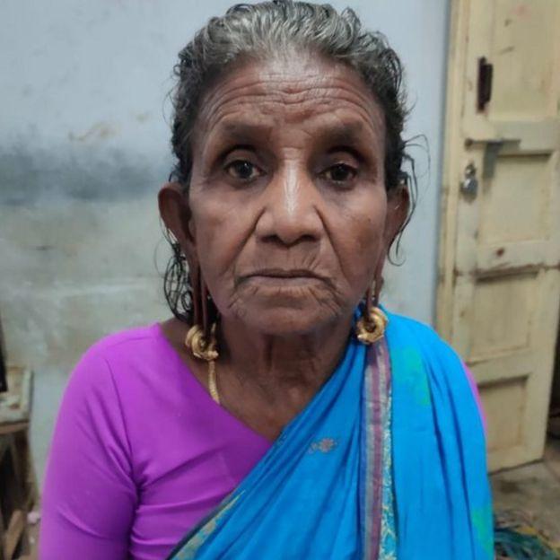 73 வயது மூதாட்டி தங்கவேலு