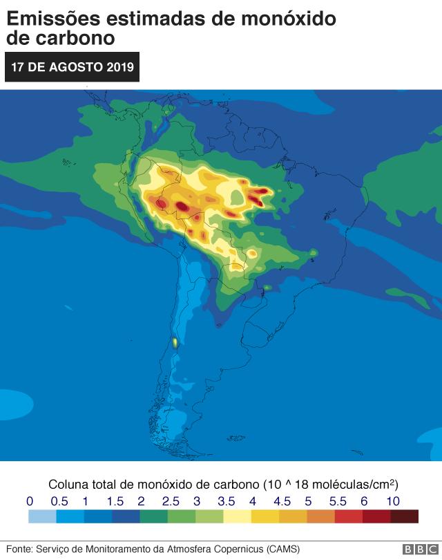 Monóxido de carbono (10^18 moléculas/cm2), 17 de agosto