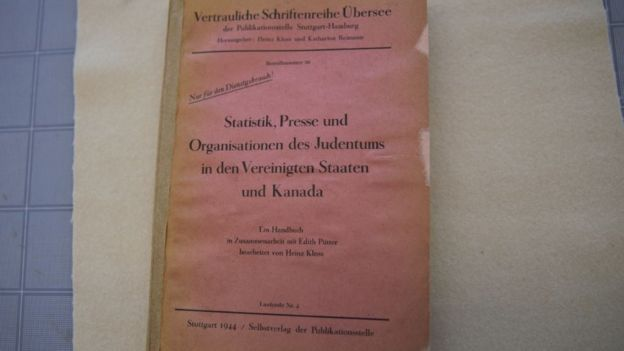 Cover of a book owned by Adolf Hitler
