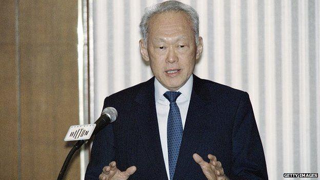 Singapore's ex-leader Lee Kuan Yew