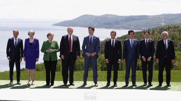 Trump ortak açıklamadan çekildi, G7 zirvesi gerginlikle sona erdi
