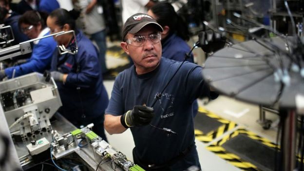 Fábrica de autos en México