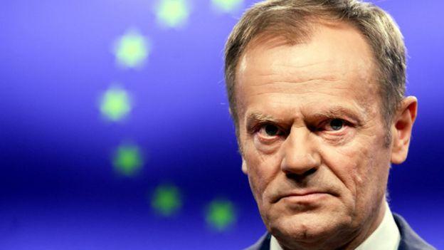 بريكست: دونالد توسك يقول إن في جهنم مكانا خاصا لمناصري خروج بريطانيا من الاتحاد الأوروبي بدون خطة