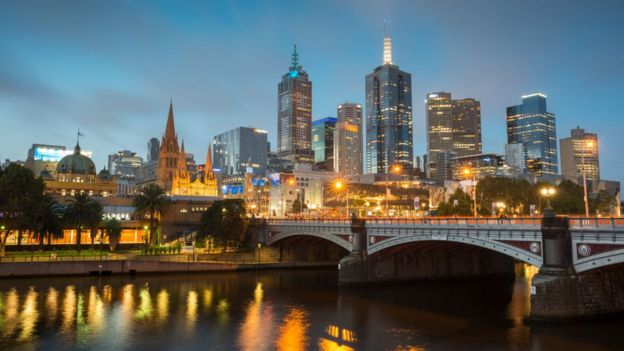 Melbourne ilikuwa awali imeongoza kwa miaka saba mtawalia